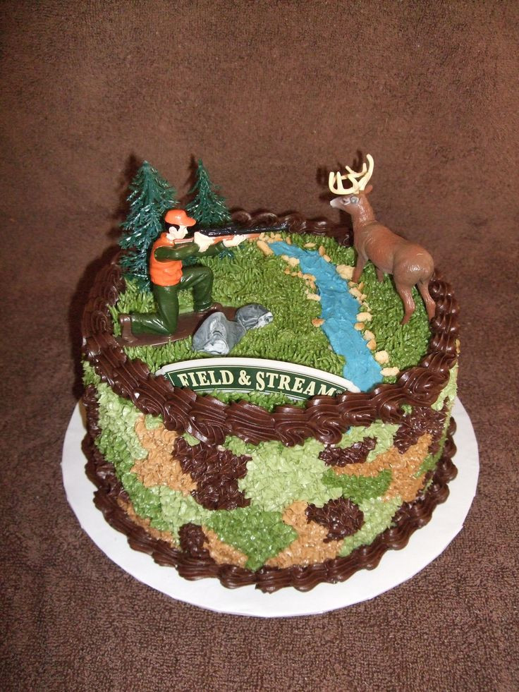 Hunting Birthday Cakes  Some Hunting Themed Cakes Hunting Cake Ideas
