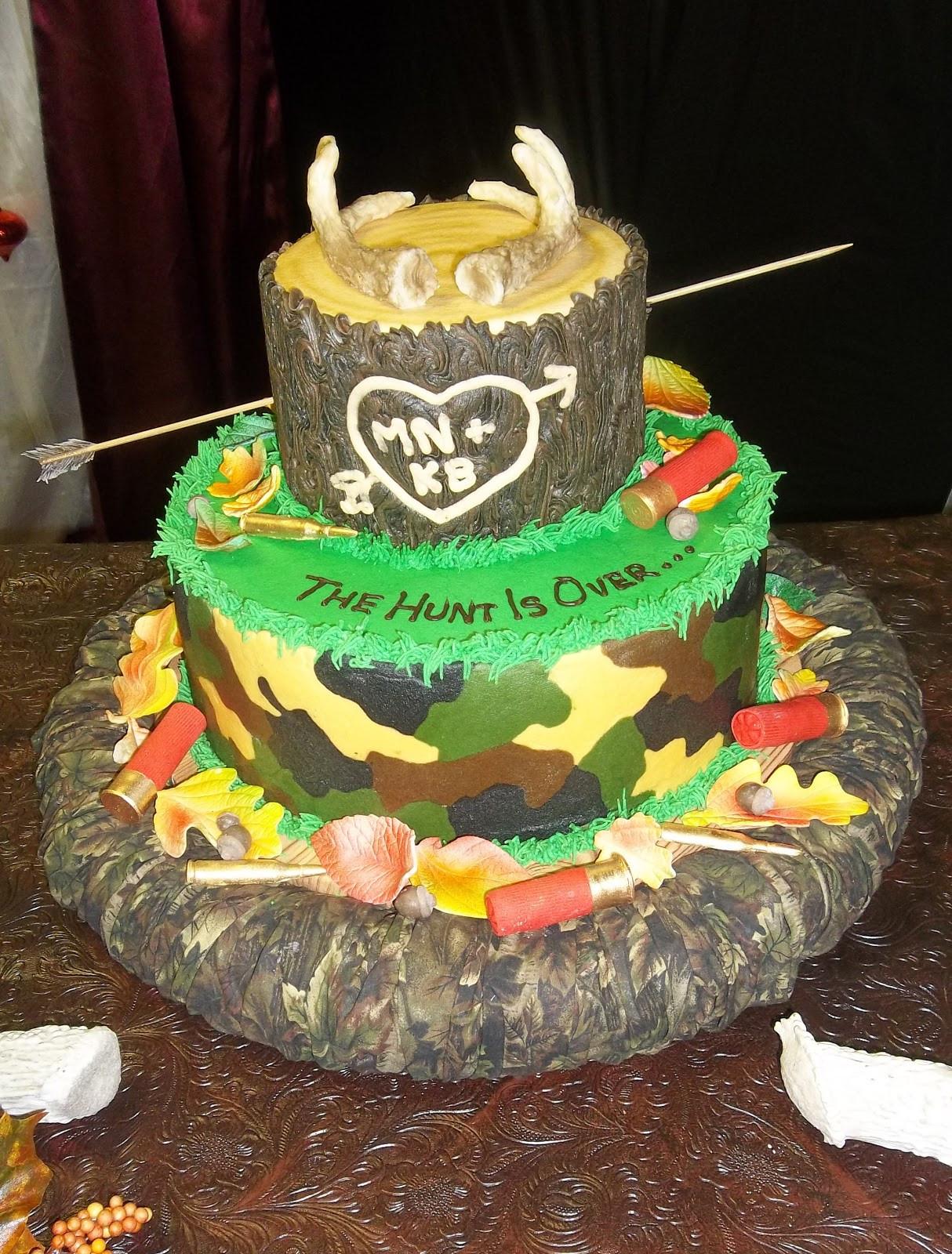 Hunting Birthday Cakes  Decorate The Cake January 2013