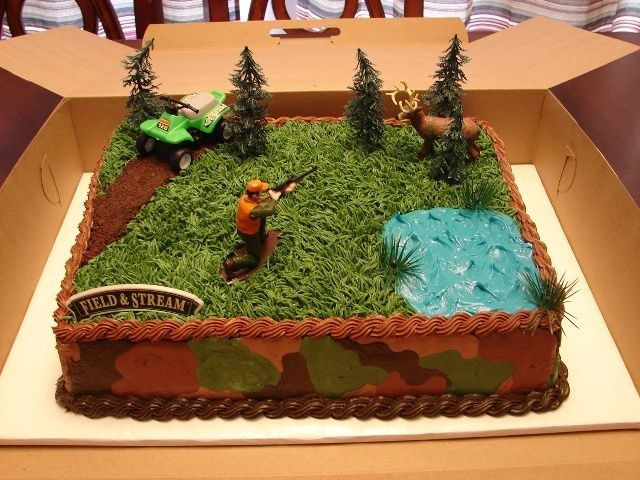 Hunting Birthday Cakes  15 Fishing or Hunting Themed Cakes to Help Celebrate in Style