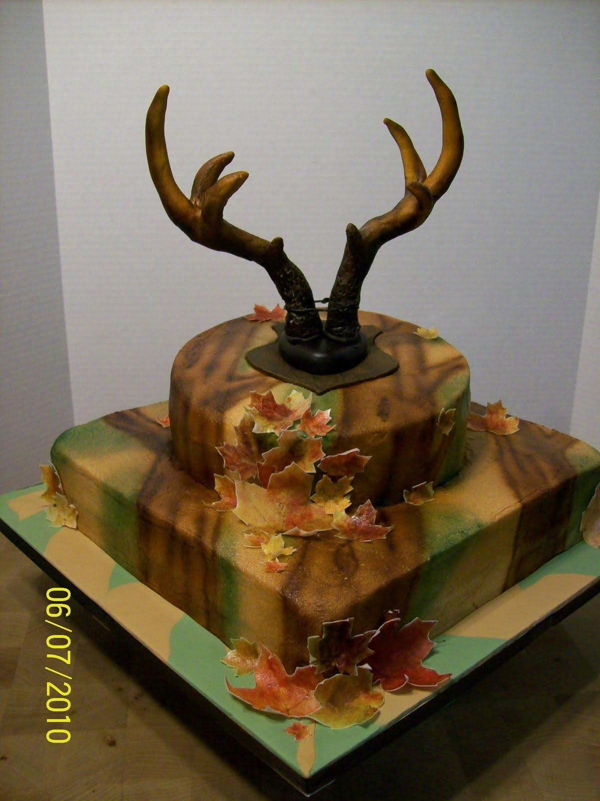 Hunting Birthday Cakes  Cakes By Chris Hunting Theme Cake