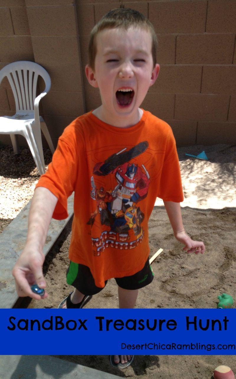 Hunting Gifts For Kids  Create a Sandbox Treasure Hunt