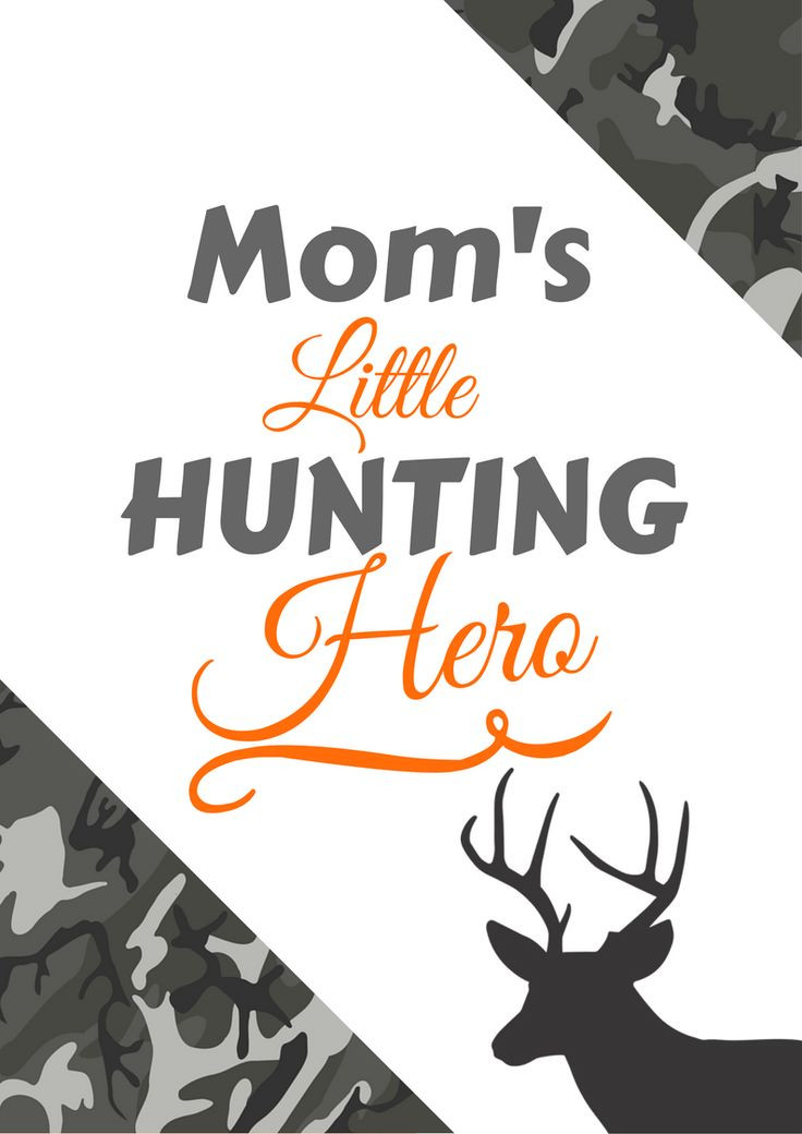 Hunting Gifts For Kids  12 best Hunting Gifts Hunting Decor Hunting Printables