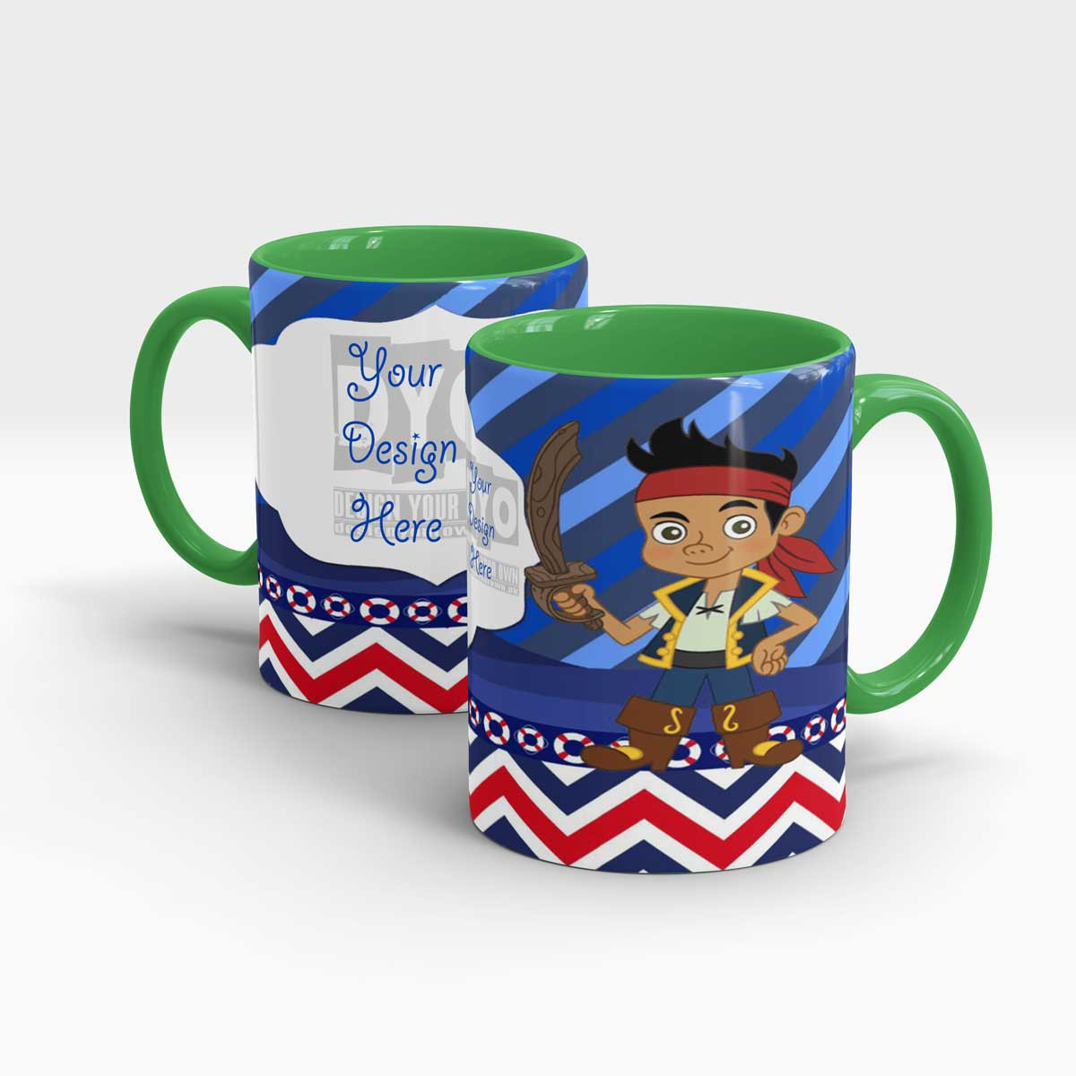 Hunting Gifts For Kids  Treasure Hunt Personalized Gift Mug for Kids Design Your Own