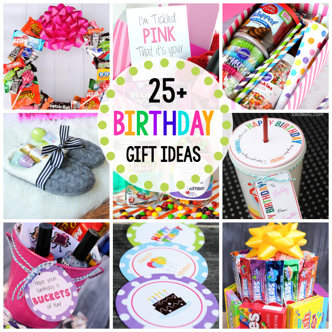 Ideas For A Birthday Gift  25 Fun Birthday Gifts Ideas for Friends Crazy Little