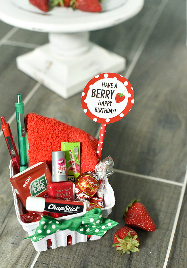 Ideas For A Birthday Gift  Berry Gift Idea – Fun Squared