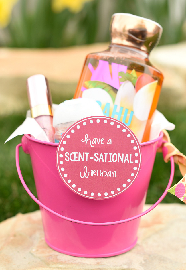 Ideas For A Birthday Gift  Scent Sational Birthday Gift Idea for Friends – Fun Squared