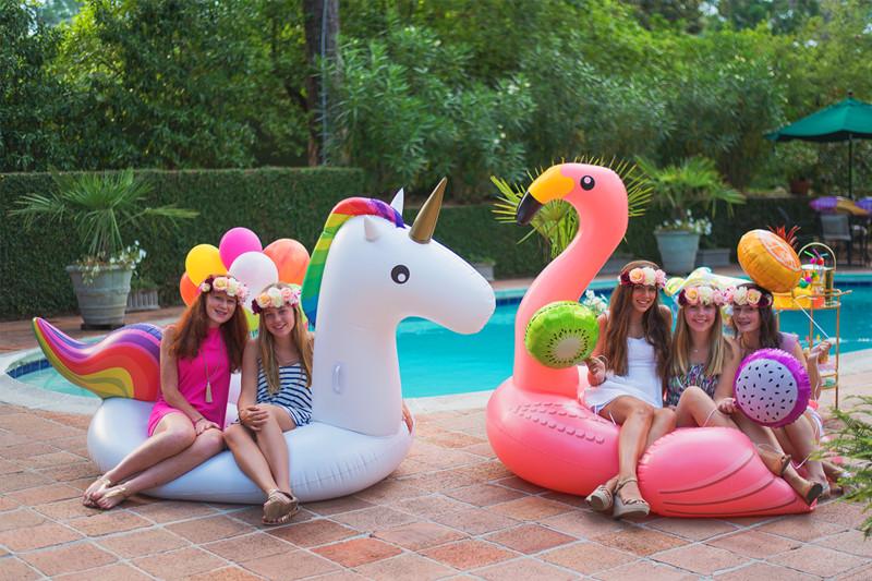Ideas Pool Party  Pool Party Ideas Via Blossom