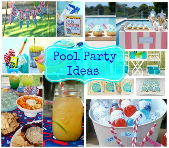 Ideas Pool Party  Pool Party Ideas Weekly Roundup
