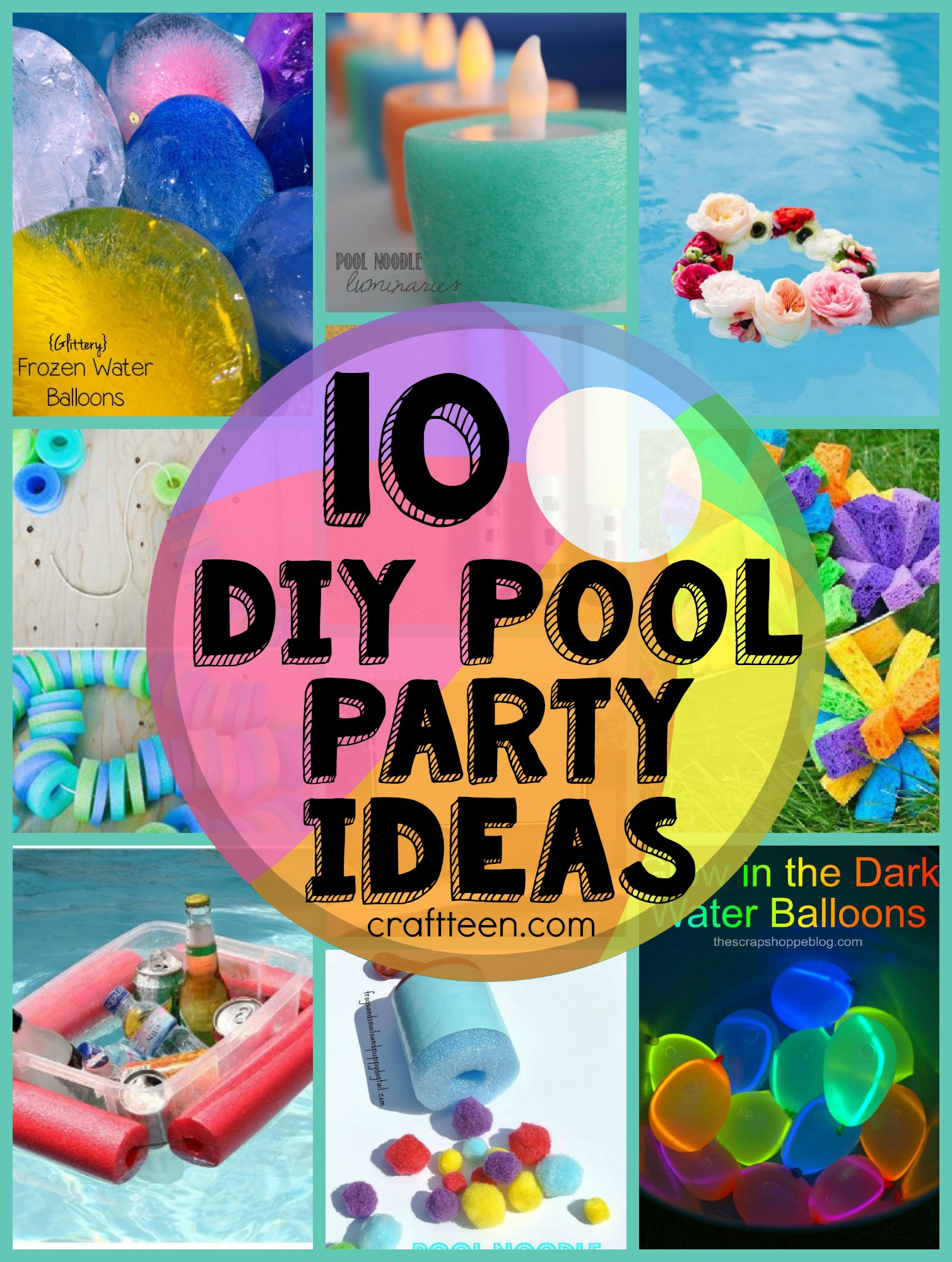 Ideas Pool Party  10 DIY Ideas for a Pool Party – Craft Teen