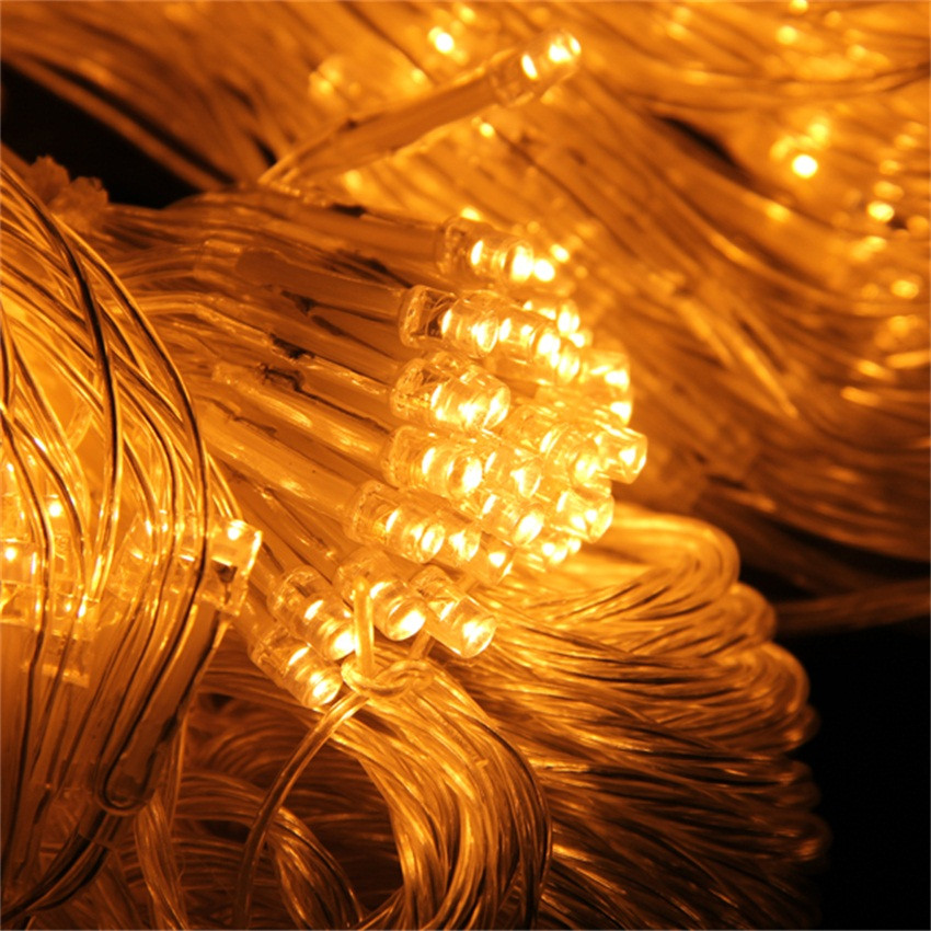 Indoor Christmas Tree Fence  200LED 2Mx1 5M Net Fairy Light Indoor Outdoor Fence Wall