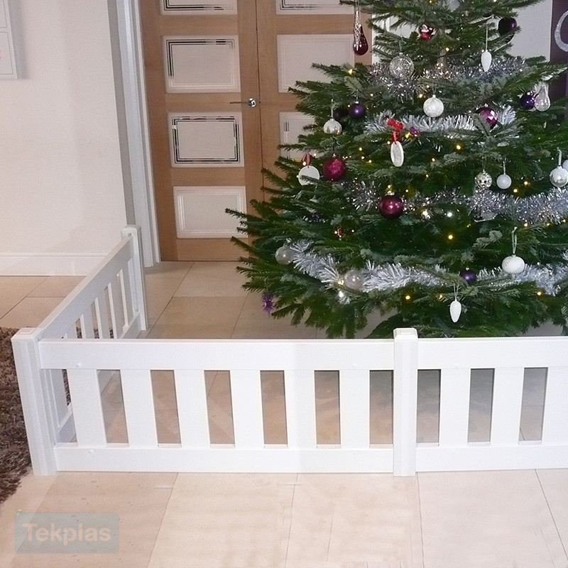 Indoor Christmas Tree Fence  Christmas Tree Fencing Guard Fencing