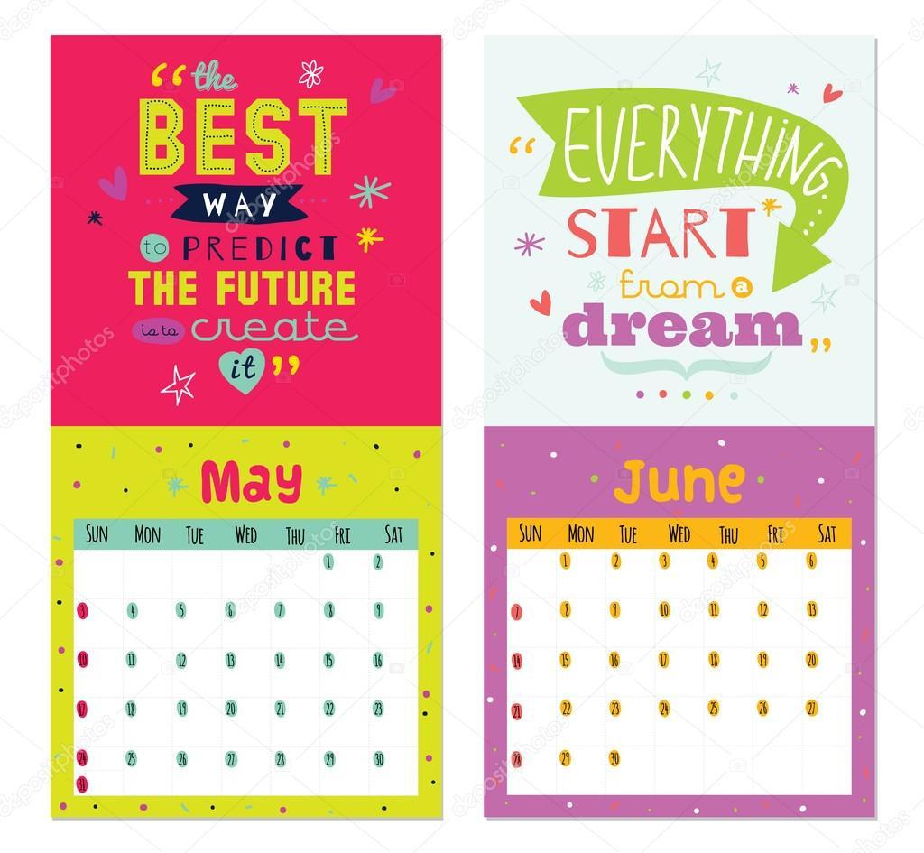 Inspirational Quote Calendar  Year Quotes For Calendars QuotesGram