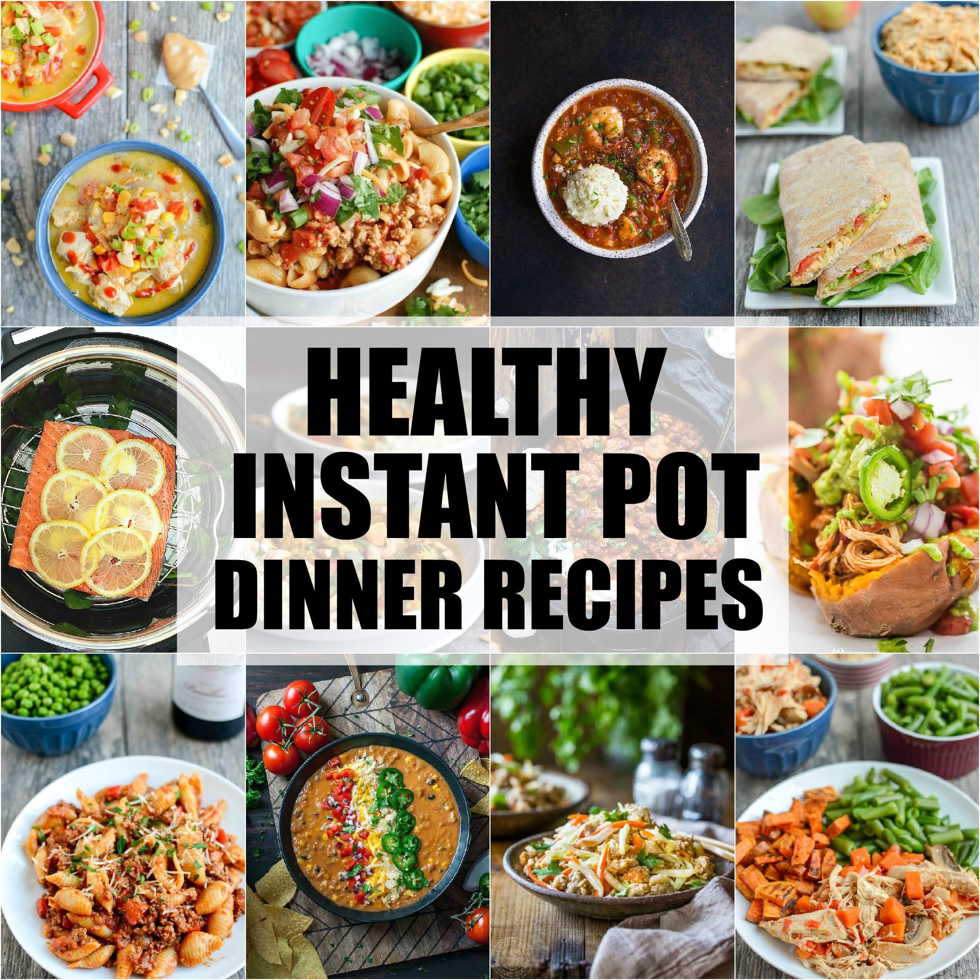 Instant Pot Brunch Recipes  Healthy Instant Pot Dinner Recipes