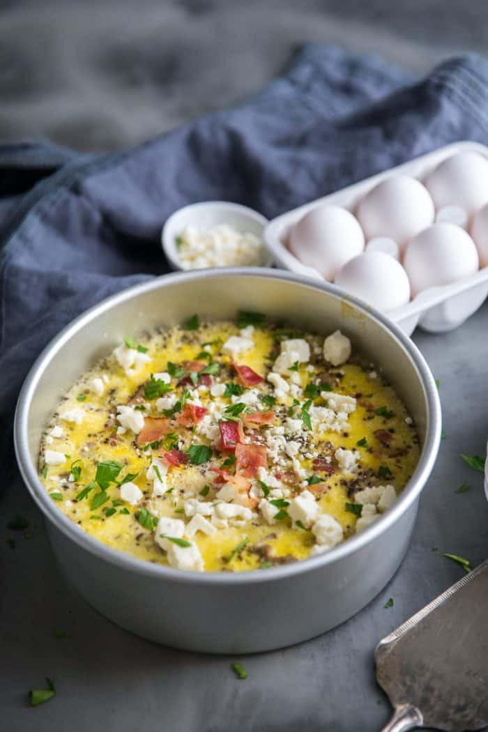 Instant Pot Brunch Recipes  Instant Pot Breakfast Egg Casserole LemonsforLulu