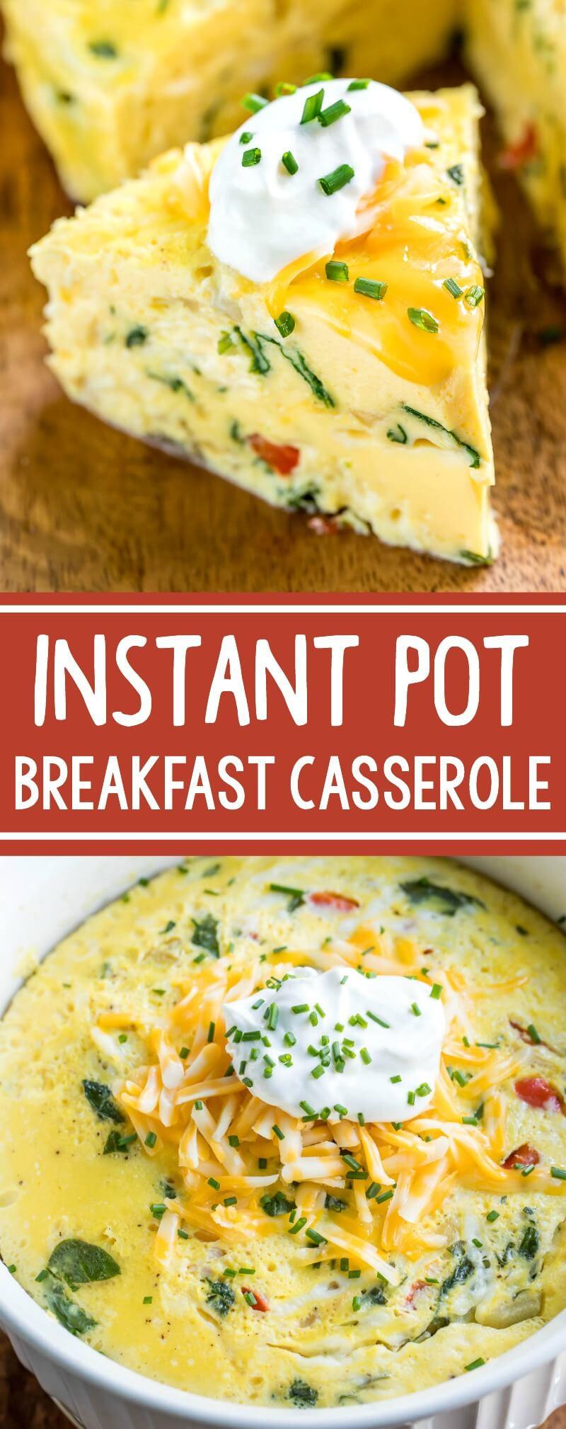 Instant Pot Brunch Recipes  Instant Pot Breakfast Casserole Peas And Crayons
