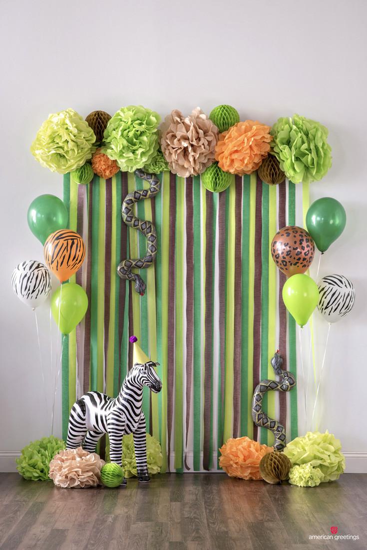 Jungle Theme Birthday Party  9 Easy DIY Jungle Safari Party Ideas Print & Party