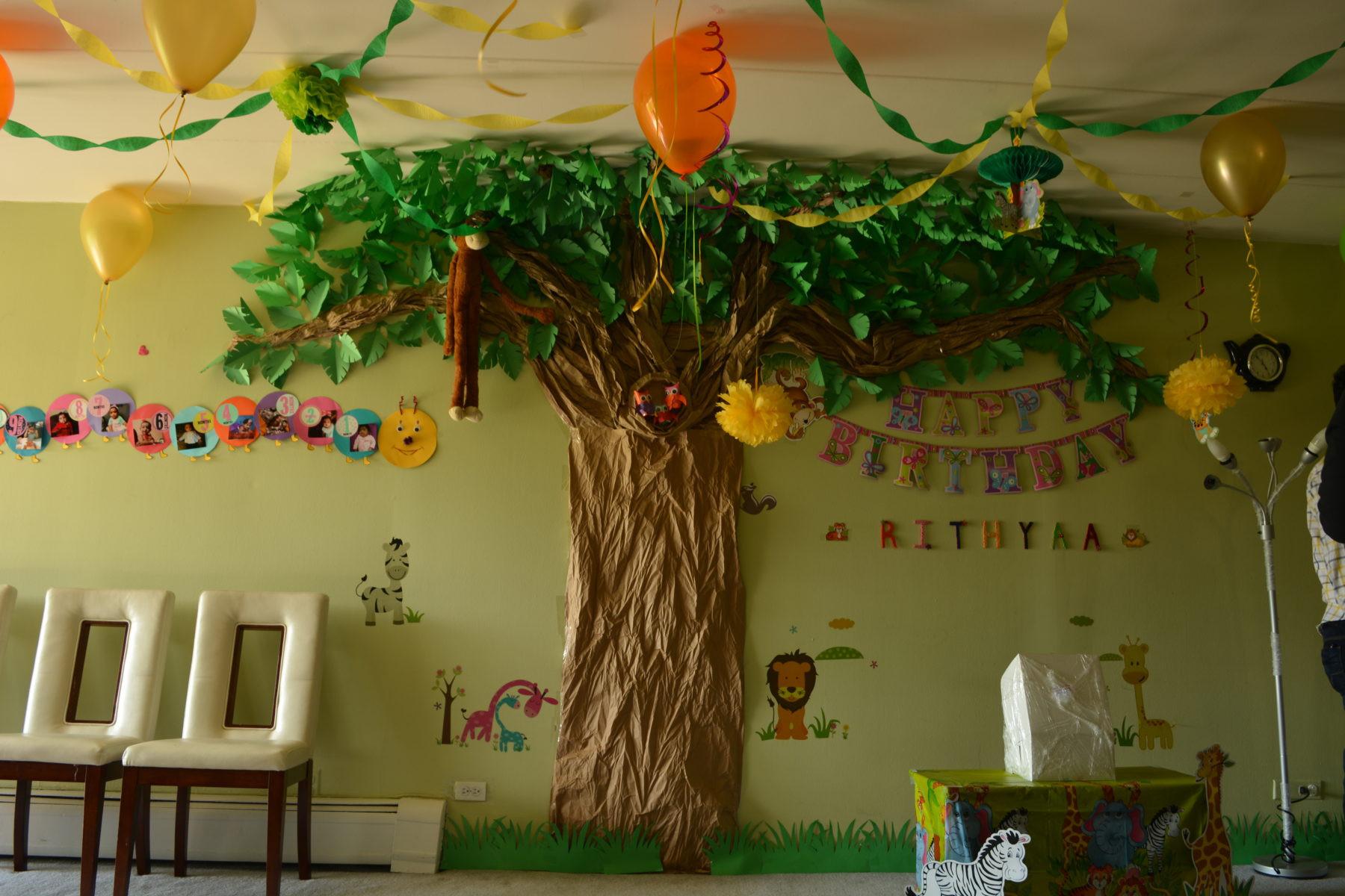 Jungle Theme Birthday Party  Jungle Theme Birthday Decoration Ideas Passionate Moms