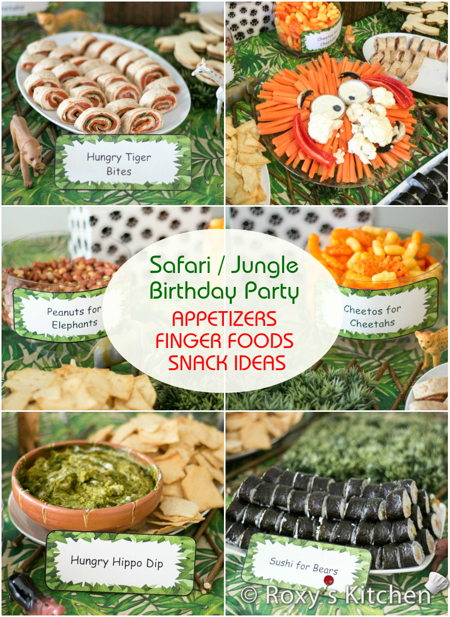 Jungle Theme Birthday Party  Safari Jungle Themed First Birthday Party Part II