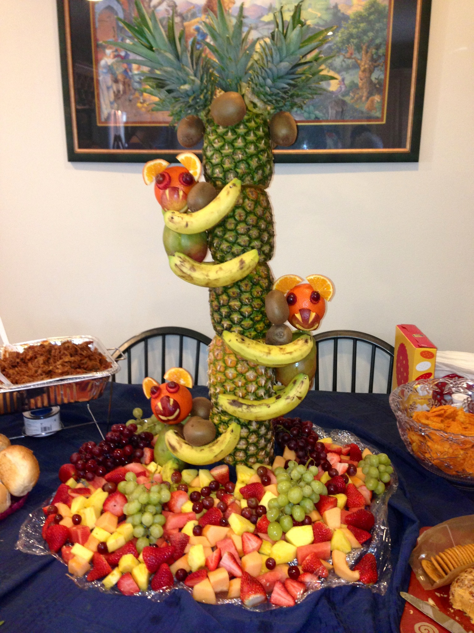 Jungle Theme Birthday Party  Some Ideas For Jungle Theme Baby Shower Food