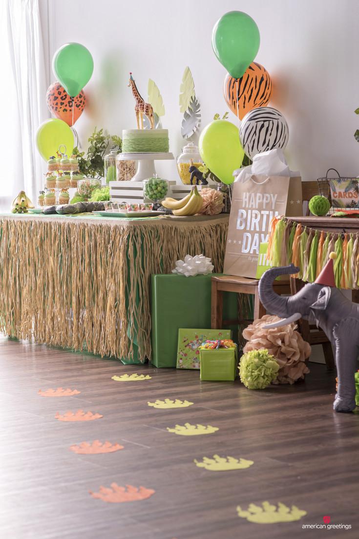Jungle Theme Birthday Party  Jungle Birthday Party Ideas Inspiration