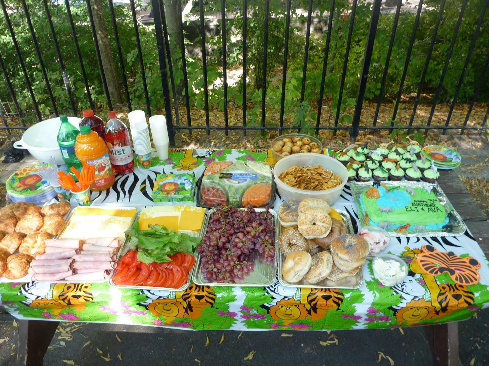Jungle Theme Birthday Party  Smock it to me baby Safari party
