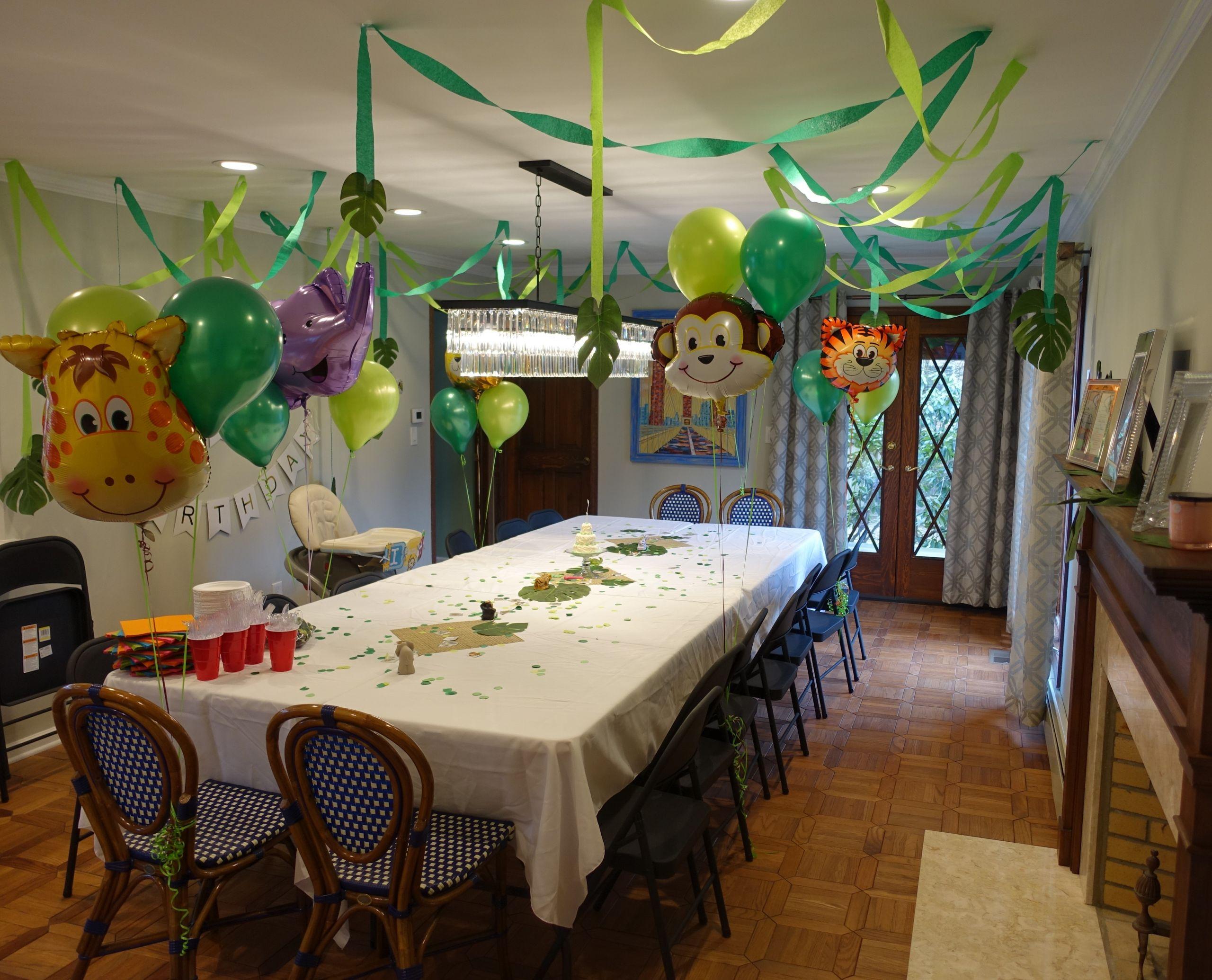Jungle Theme Birthday Party  Jungle Theme Birthday Party – Suburban Grandma