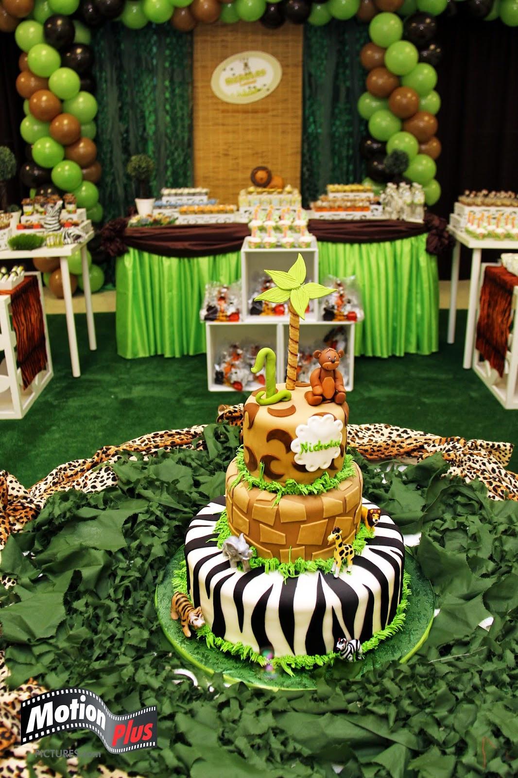 Jungle Theme Birthday Party  Motion Plus Safari Themed Birthday Party Ideas