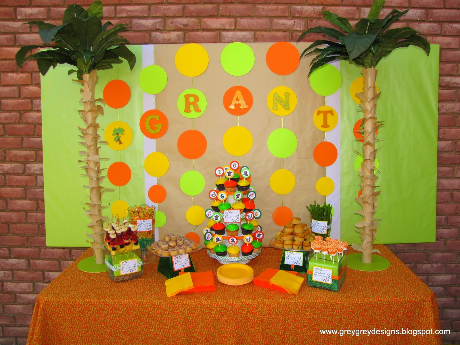 Jungle Theme Birthday Party  Safari or Jungle birthday party ideas Page 2 BabyCenter
