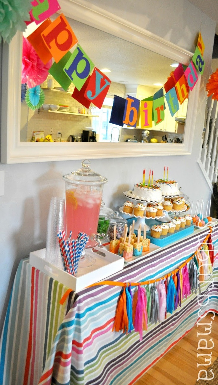 Kids Birthday Party Decoration Ideas  72 best Birthday Party Ideas images on Pinterest