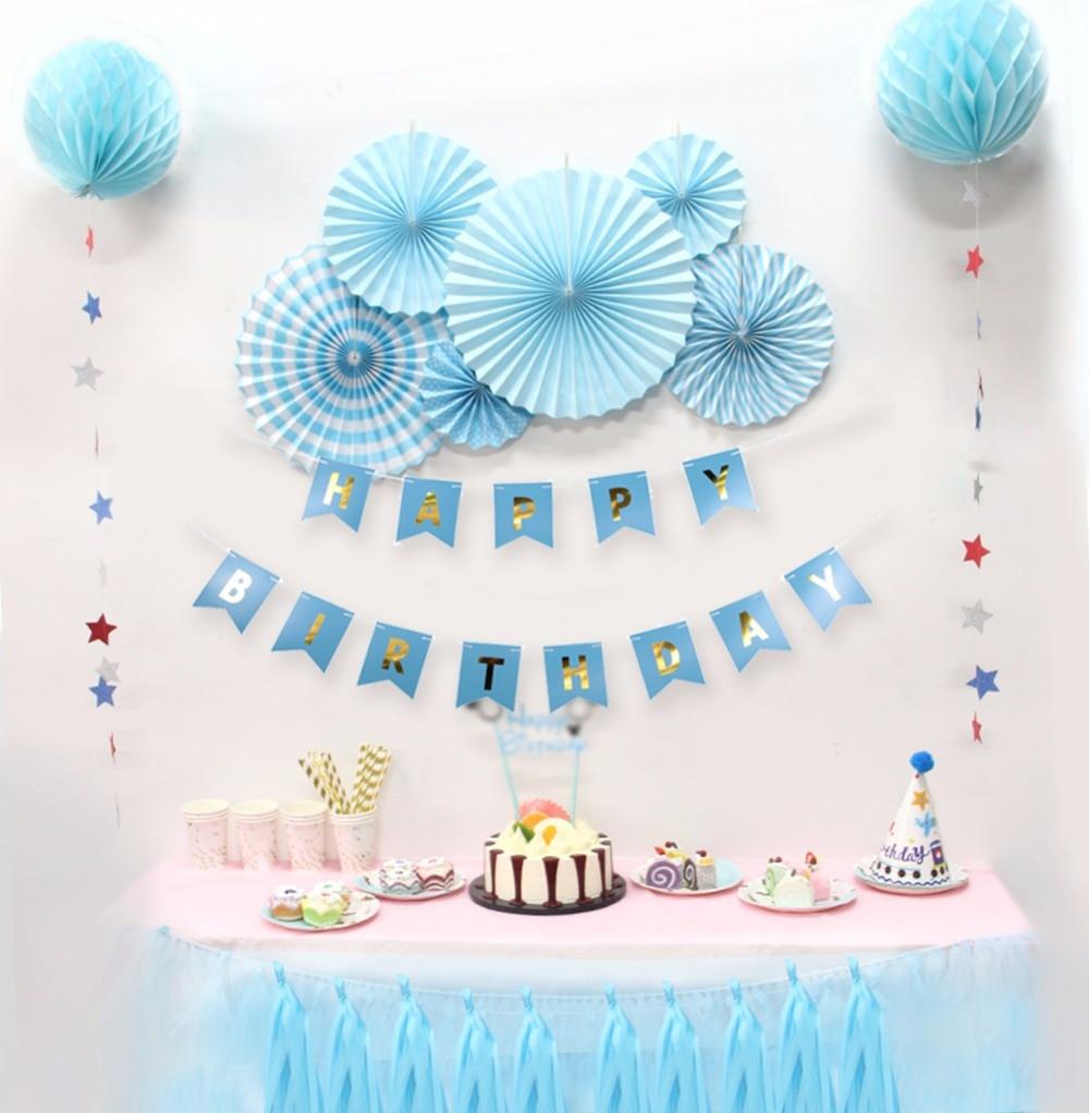 Kids Birthday Party Decoration Ideas  Baby Shower Birthdays Party Decorations Boy Holiday