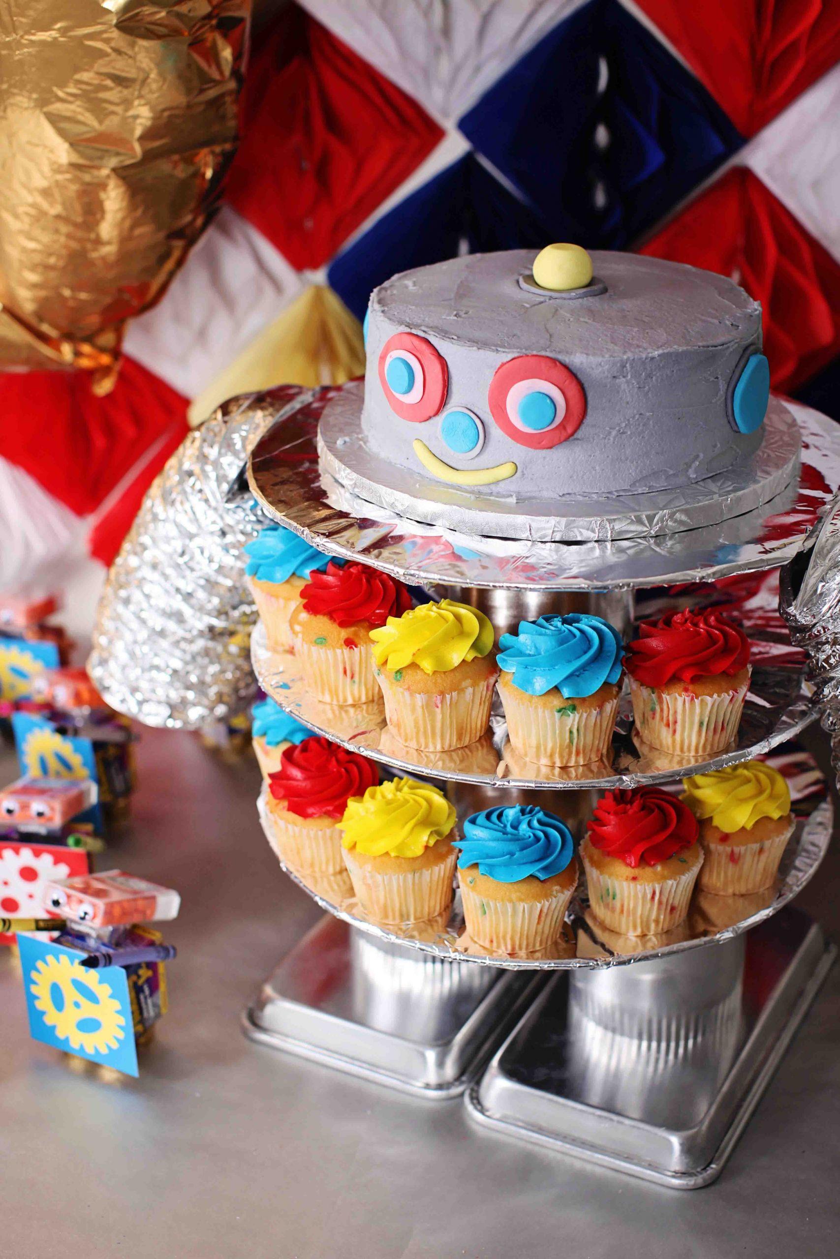 Kids Birthday Party Decoration Ideas  Boy s Birthday Party Ideas Robot Birthday