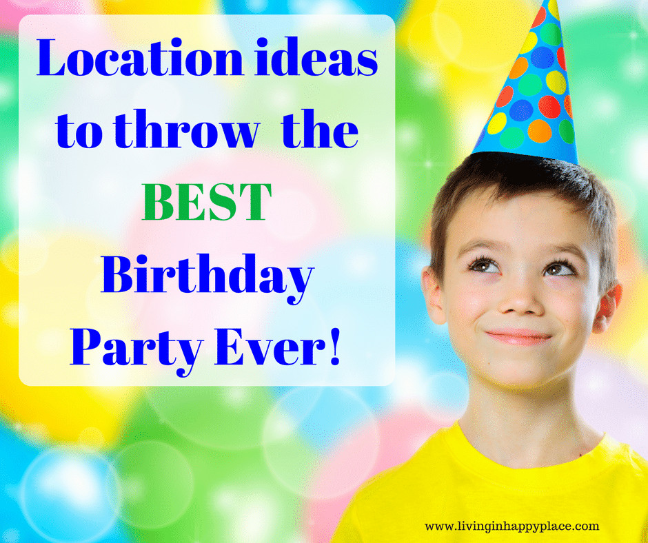 Kids Birthday Party Location Ideas  Kids Birthday Party Ideas and locations with Printable