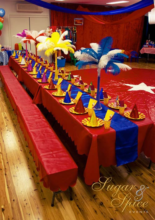 Kids Birthday Party Location Ideas  Kids Party Venue Circus Spectacular Birthday Parties