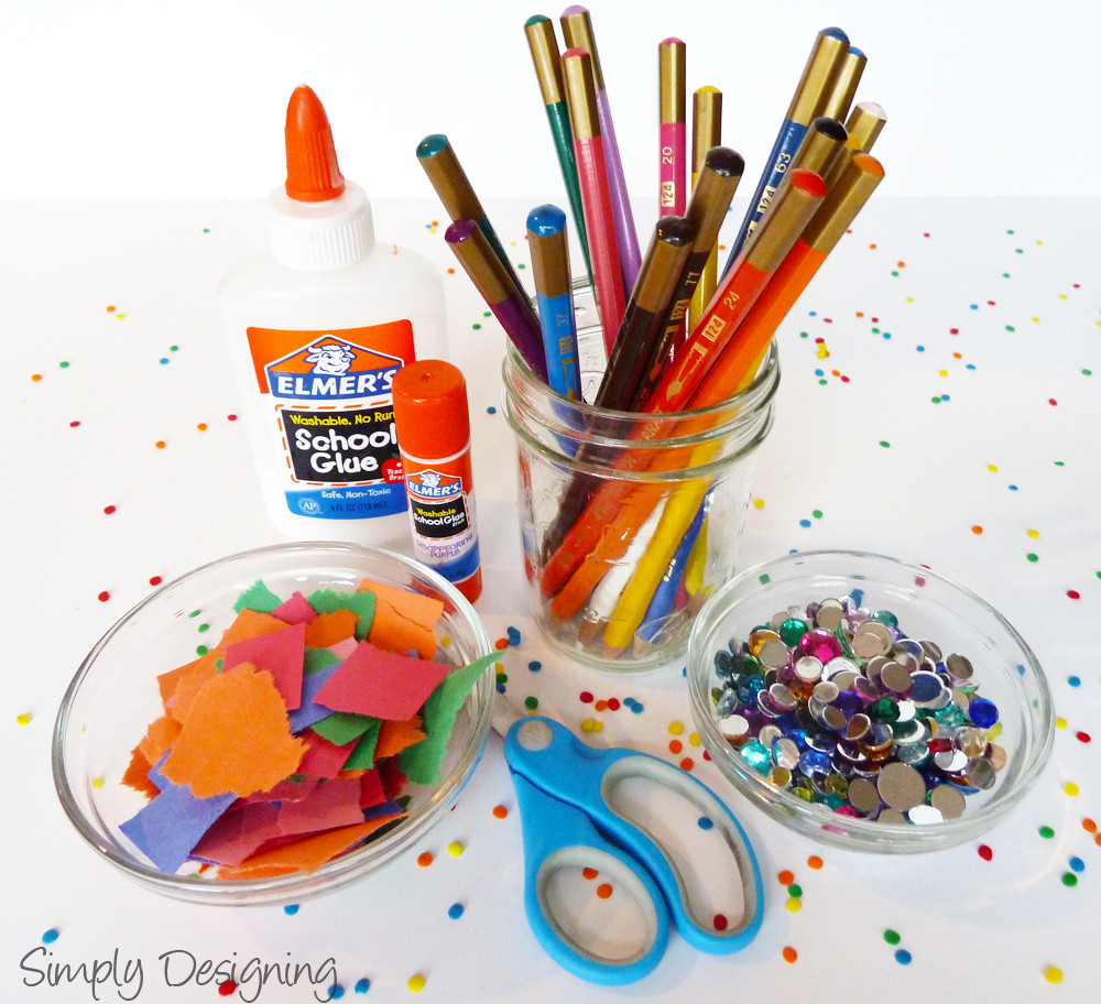 Kids Crafting Supplies  Fun Activities for Kids at a Party