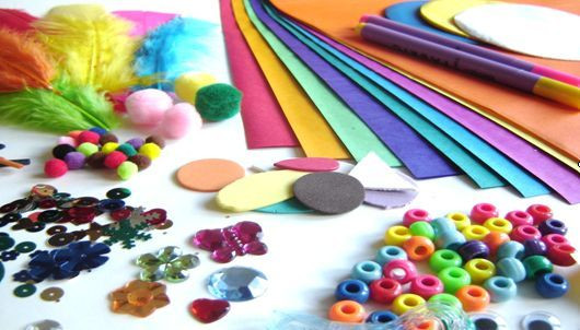 Kids Crafting Supplies  Rainbow Creations Art and Craft for Children Blog