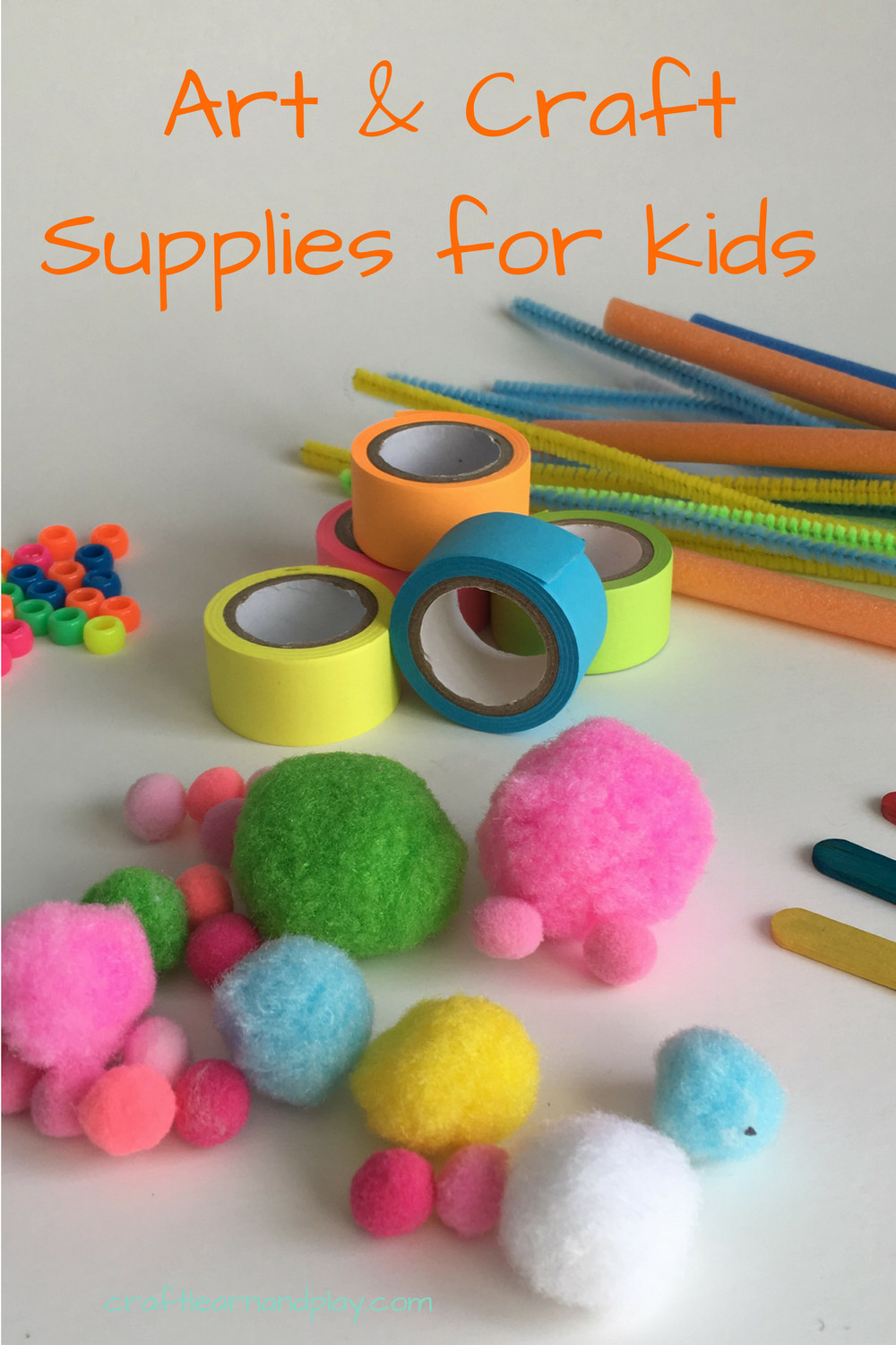 Kids Crafting Supplies  The best list of art supplies for kids To help you free