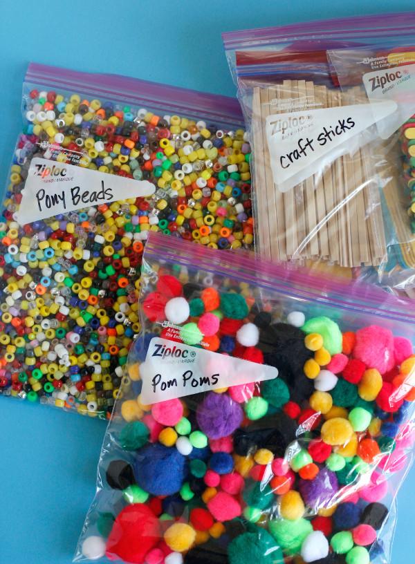 Kids Crafting Supplies  Organizing Kids Craft Supplies