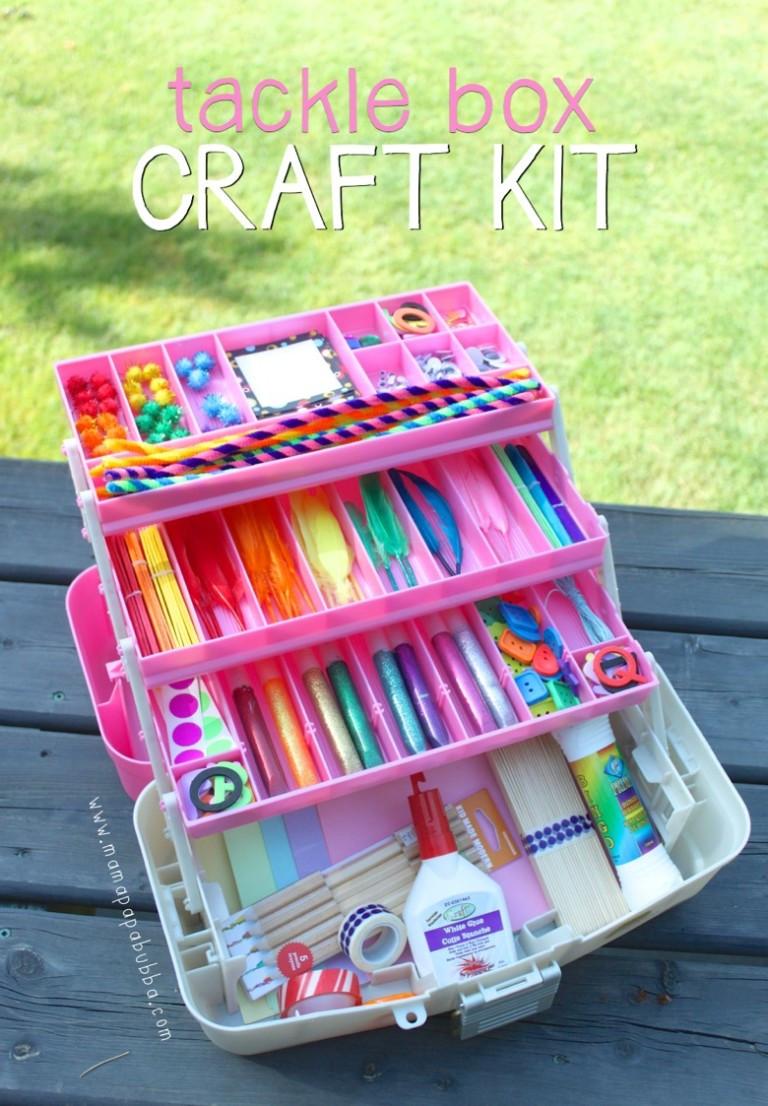 Kids Crafting Supplies  20 DIY Craft Kits for Kids [ t ideas] – Tip Junkie