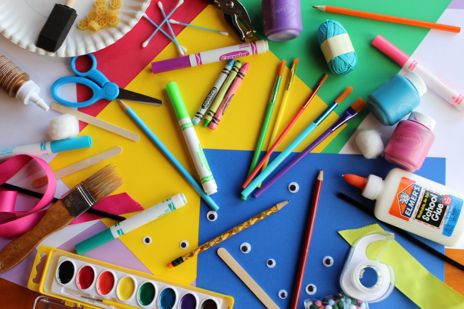 Kids Crafting Supplies  Best Crafts for Kids
