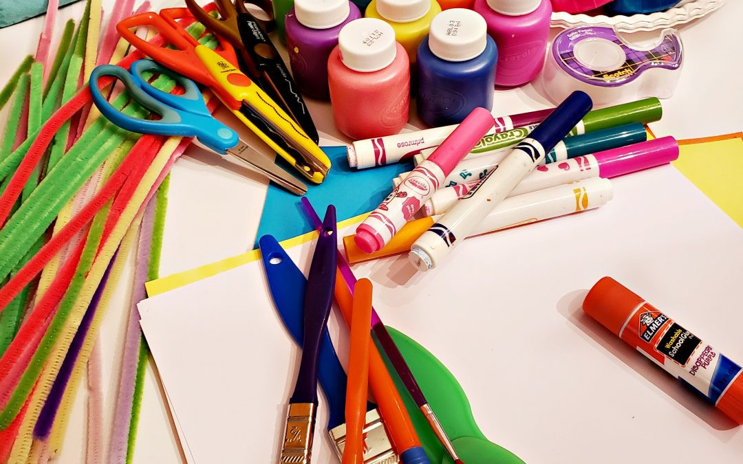 Kids Crafting Supplies  Must Have Craft Supplies for Kids Crafts Decor and Family