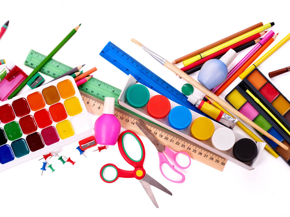 Kids Crafting Supplies  Organize Craft Supplies with 8 Household Items