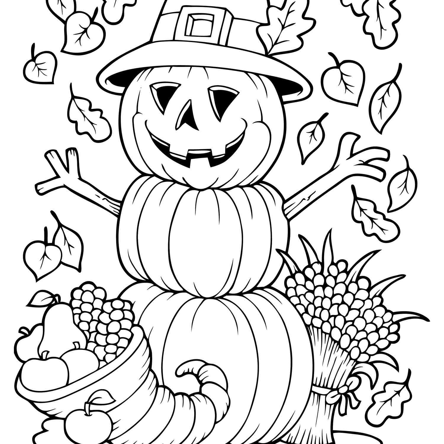Kids Fall Coloring Pages  19 Places to Find Free Autumn and Fall Coloring Pages