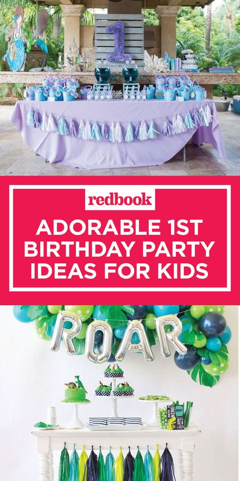Kids First Birthday Party  15 Adorable 1st Birthday Party Ideas for Kids Best 1st