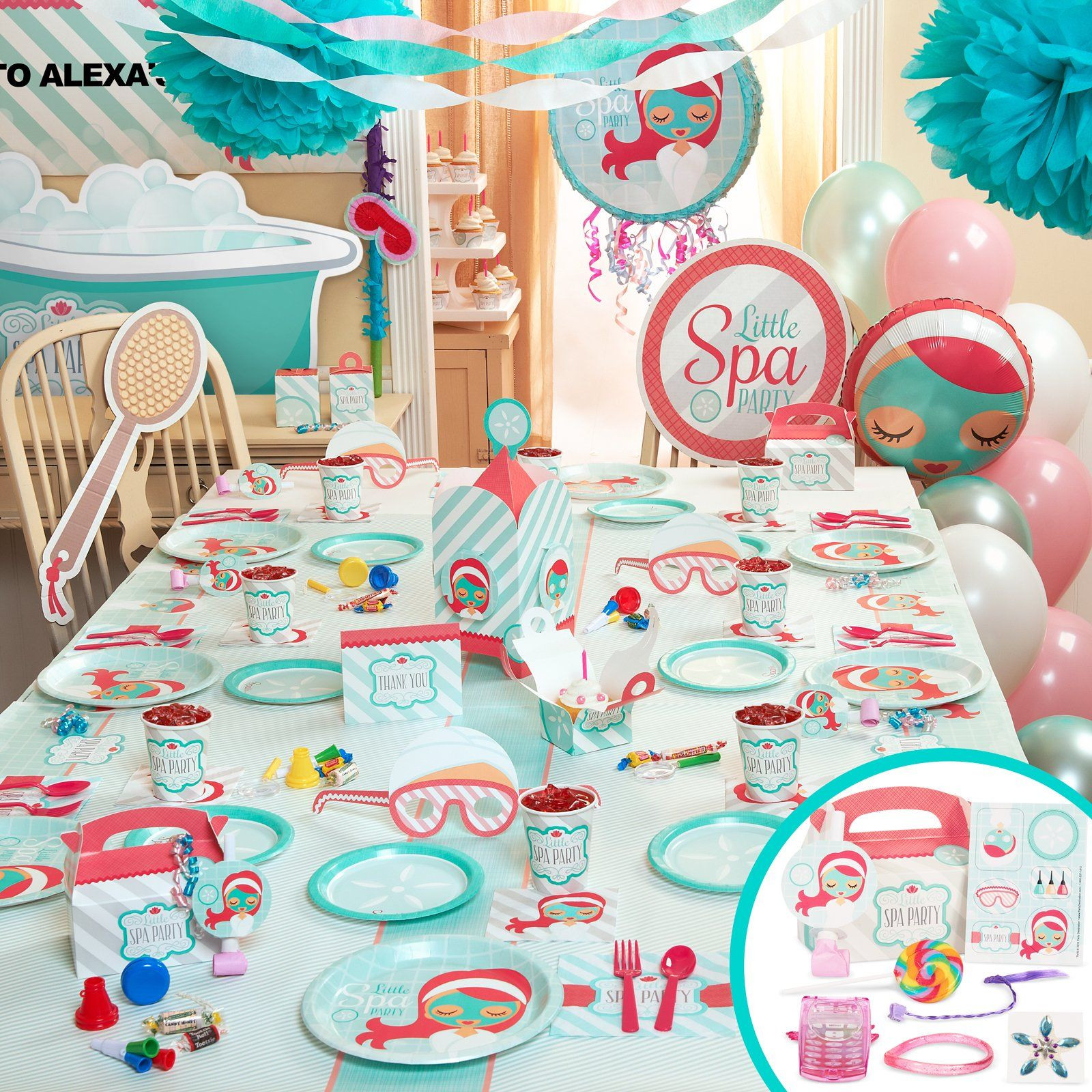Kids Spa Party Favors  Spa Party Favors for Tweens