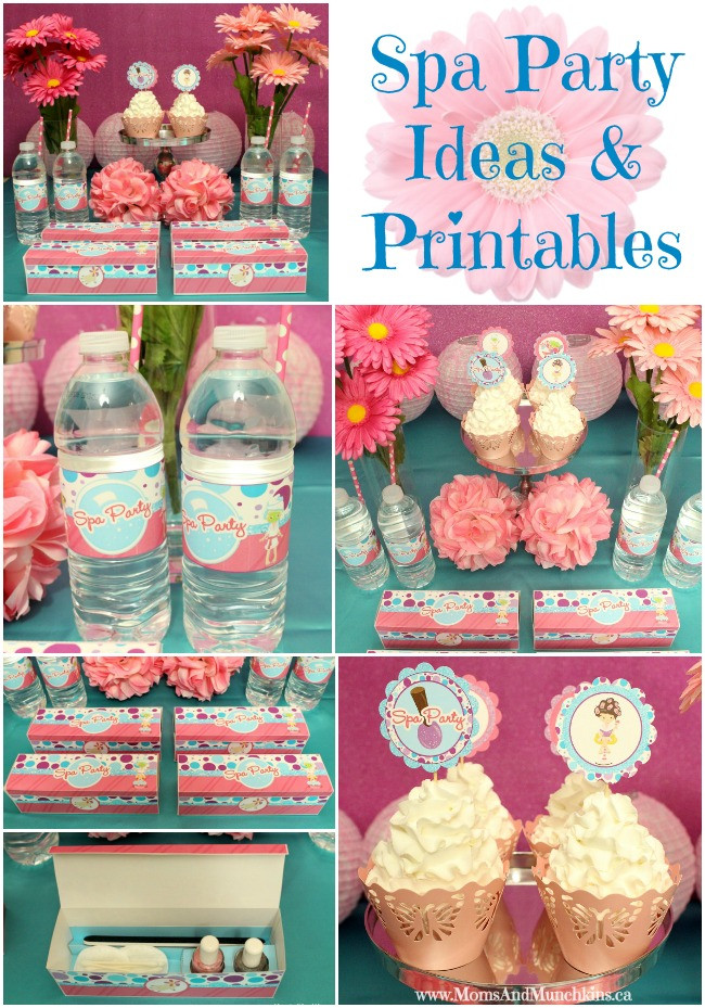 Kids Spa Party Favors  You can consider spa party favors as your key to the