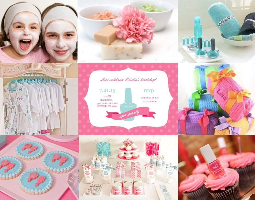 Kids Spa Party Favors  Kids Spa Party Ideas & Tips From PurpleTrail