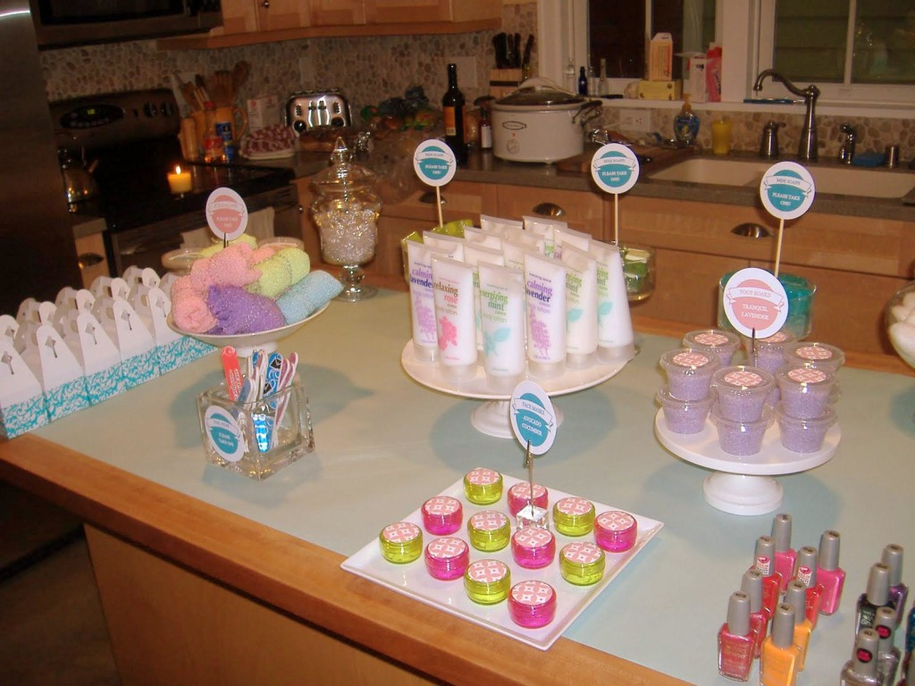 Kids Spa Party Favors  Spa Party