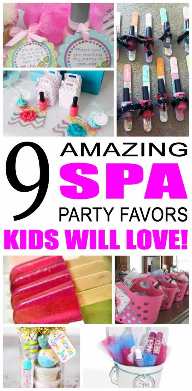 Kids Spa Party Favors  3065 best Favor Bags images on Pinterest