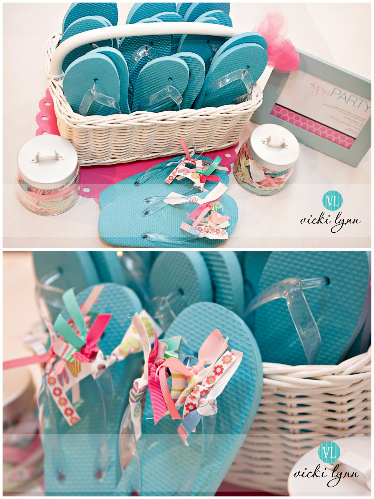 Kids Spa Party Favors  Real Parties Sophie s Fabulous Spa Birthday Party