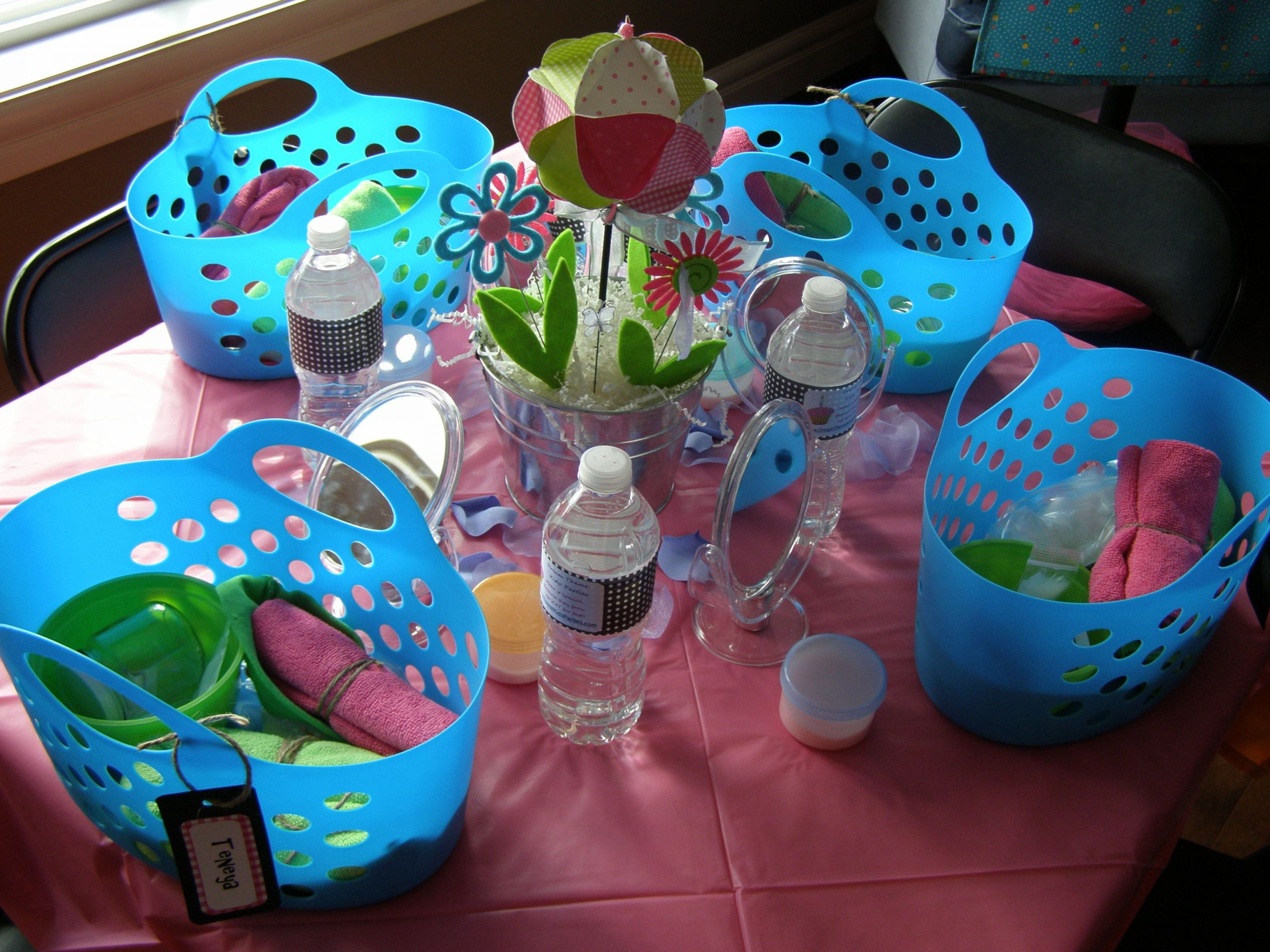 Kids Spa Party Favors  Spa Party for Girls Dream Theme Kids Parties